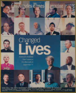Mark D Phillips appears on the cover of Changed Lives: LA Times Magazine