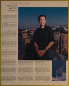 Mark D Phillips is featured in Changed Lives: LA Times Magazine