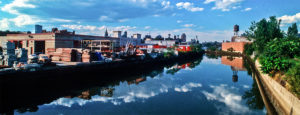 Reflections in the Gowanus Canal 1992