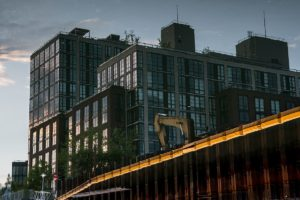 365 Bond Street Reflection