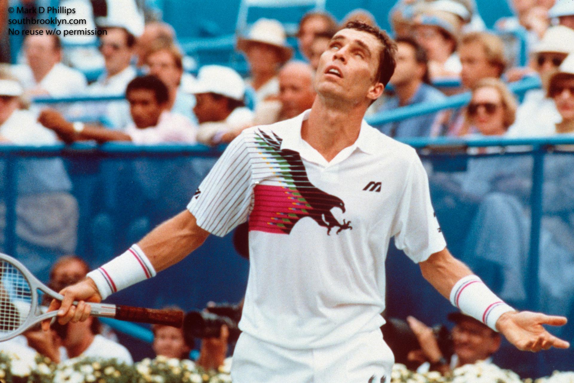 Ivan Lendl at US Open