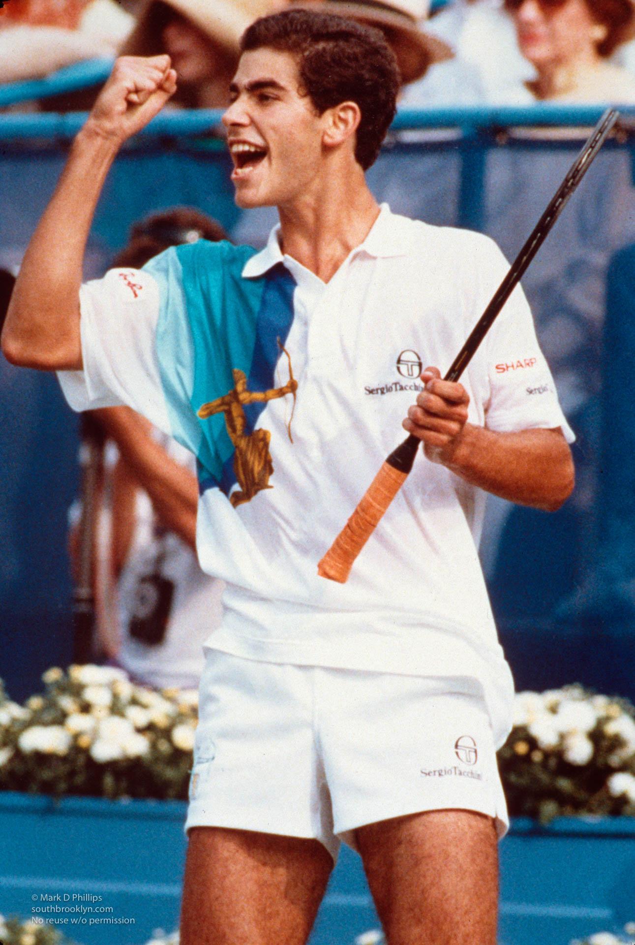 Pete Sampras at US Open in 1992