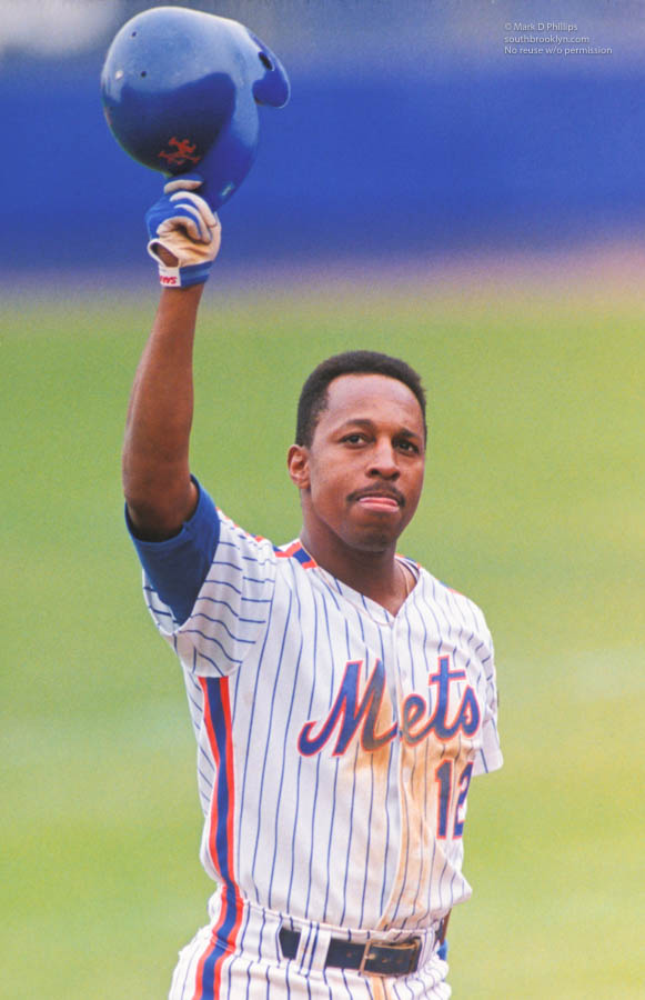 Willie Randolph's last game as a player for the New York Mets