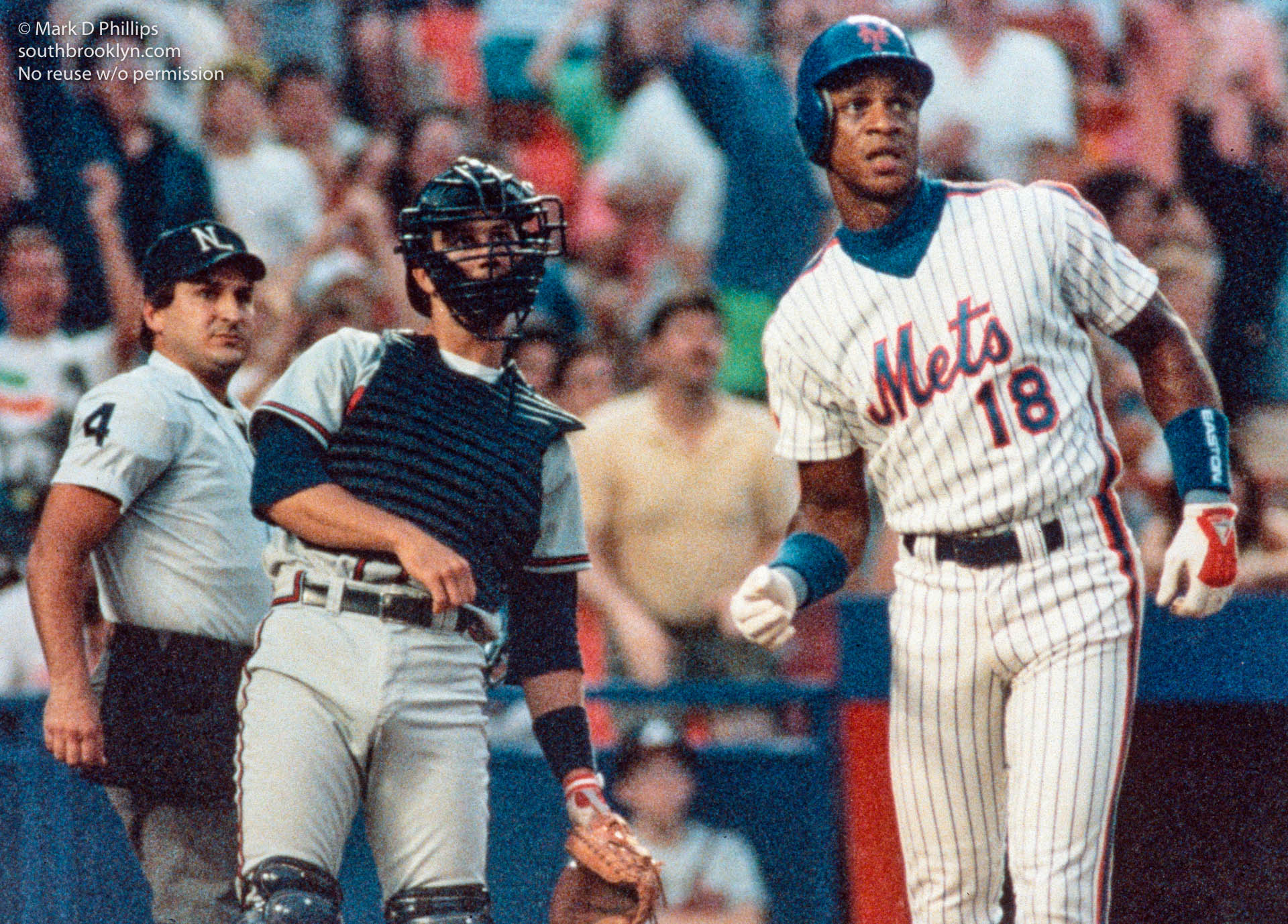New York Mets Daryl Strawberry