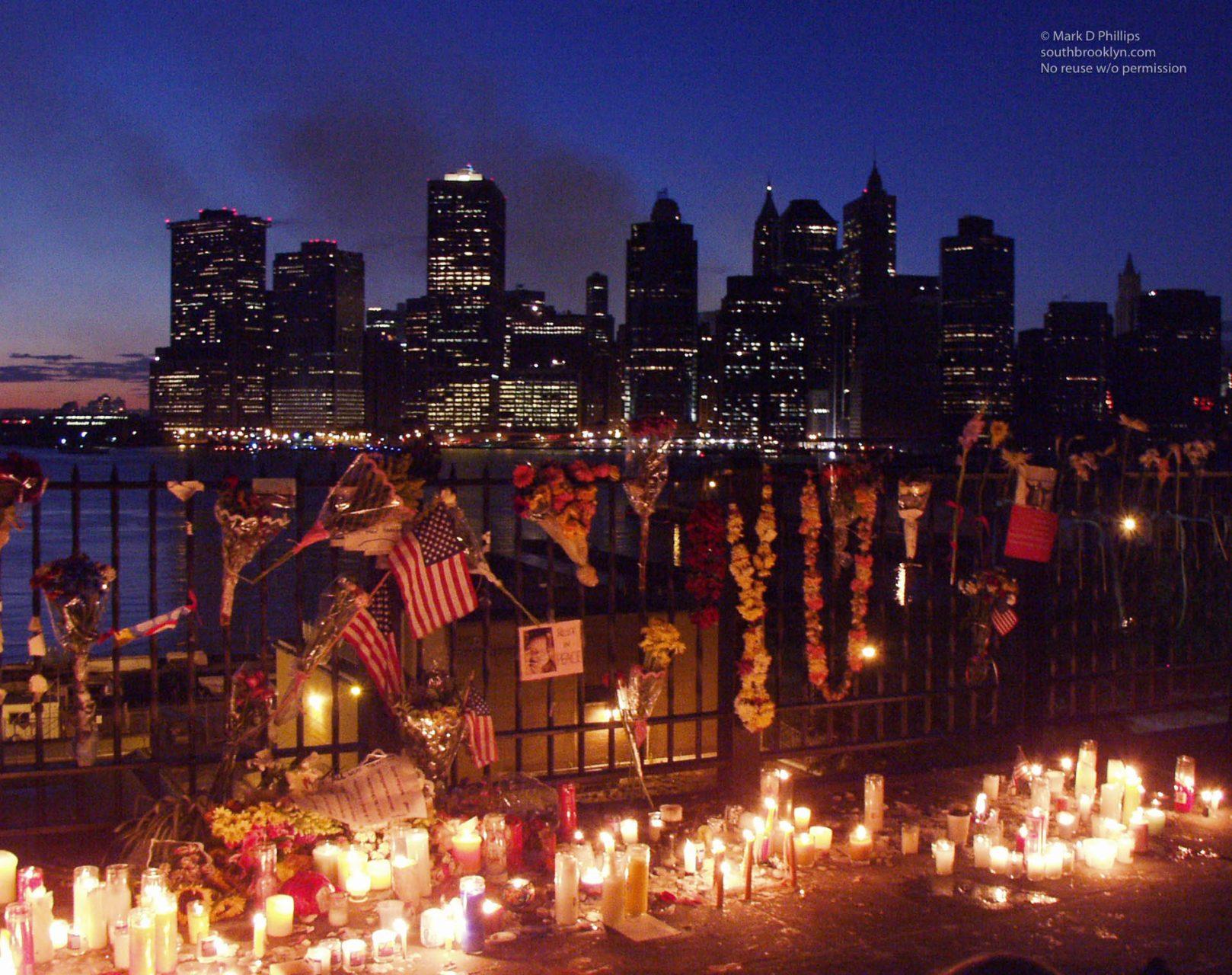 9/14/01 Promenade Vigil