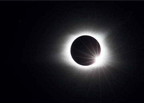 Great American Eclipse Notecard - © Mark D Phillips