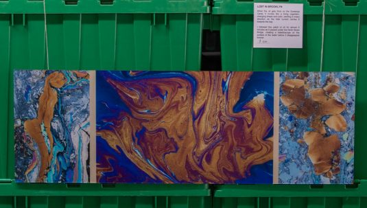 LOST IN BROOKLYN - Gowanus Triptych in Oil © Mark D Phillips