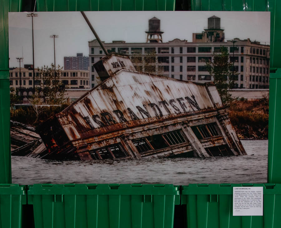 LOST IN BROOKLYN: ISBRANDTSEN ©Mark D Phillips
