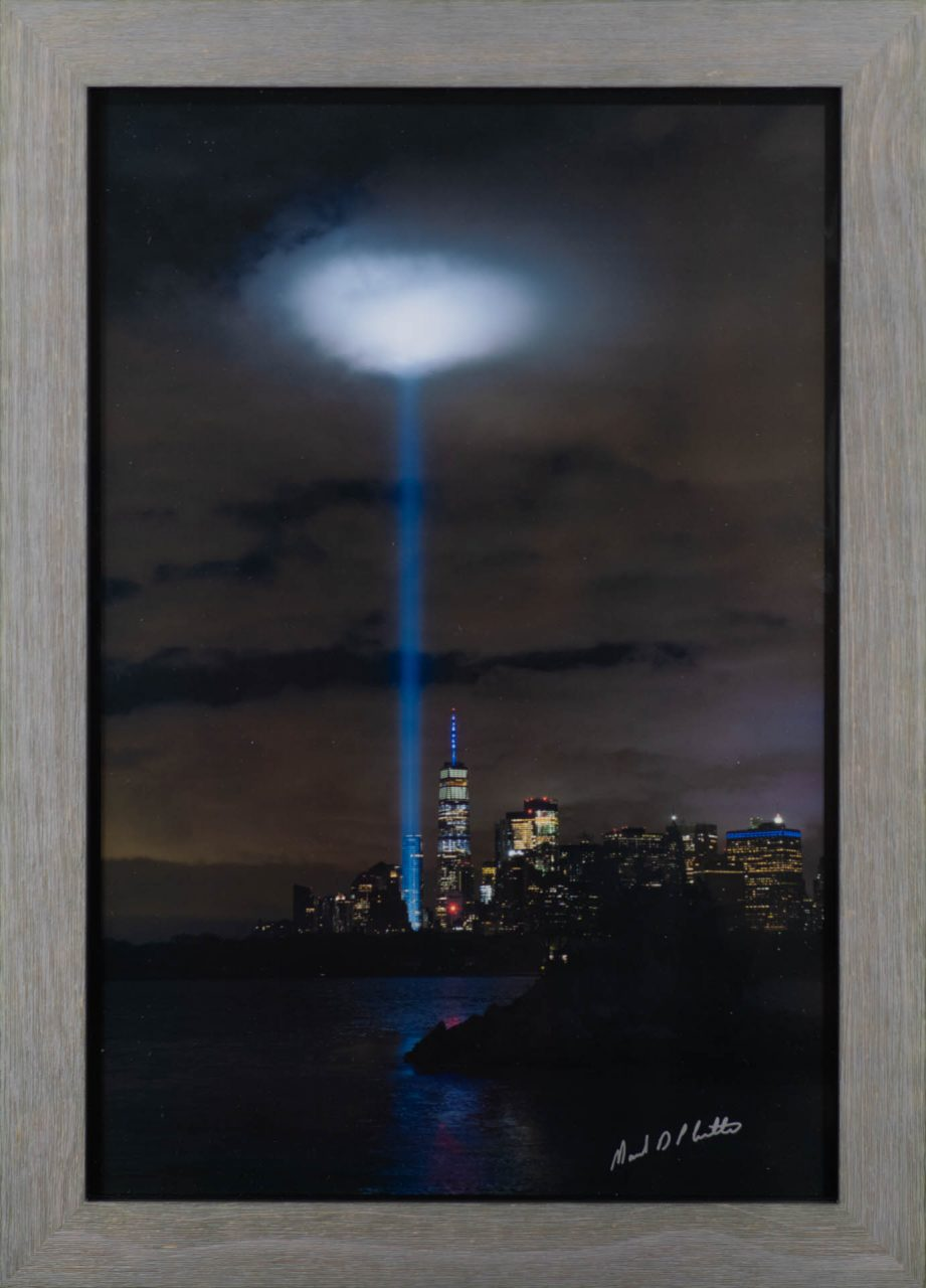 Tribute in Light 9/11/2020, 13 x 19 Print by Mark D Phillips in Every Picture Tells A Story